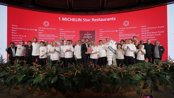 37 restaurants in Singapore are awarded one star, including seven new entrants