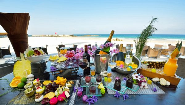 Bintan Lagoon Resort Jazzy Brunch Buffet Spread