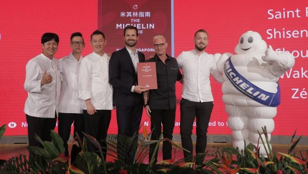 The MICHELIN Guide Singapore 2019 awards five two-MICHELIN-starred restaurants