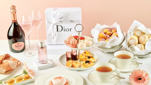 Dior x Ruinart Afternoon Tea at The St. Regis Singapore