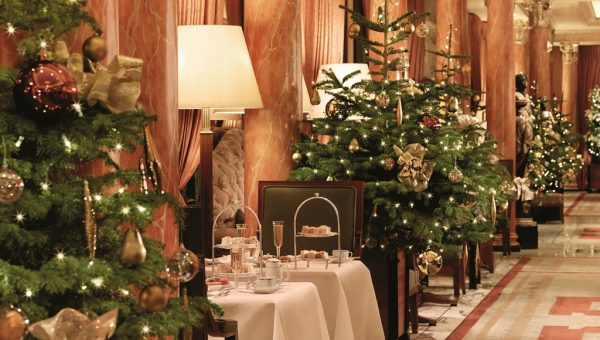 Christmas Afternoon Tea at The Dorchester