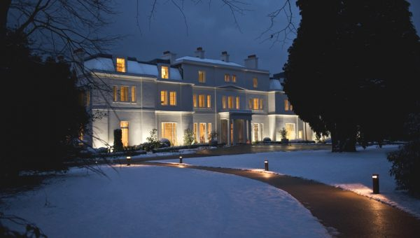 Exterior, snow - Coworth Park_LIGHTER