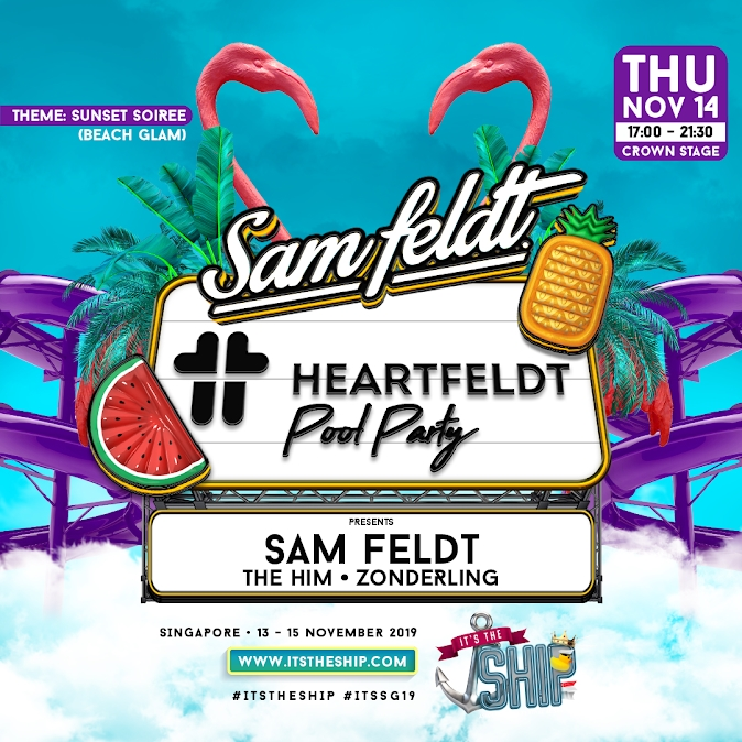 HEARTFELDT POOL PARTY