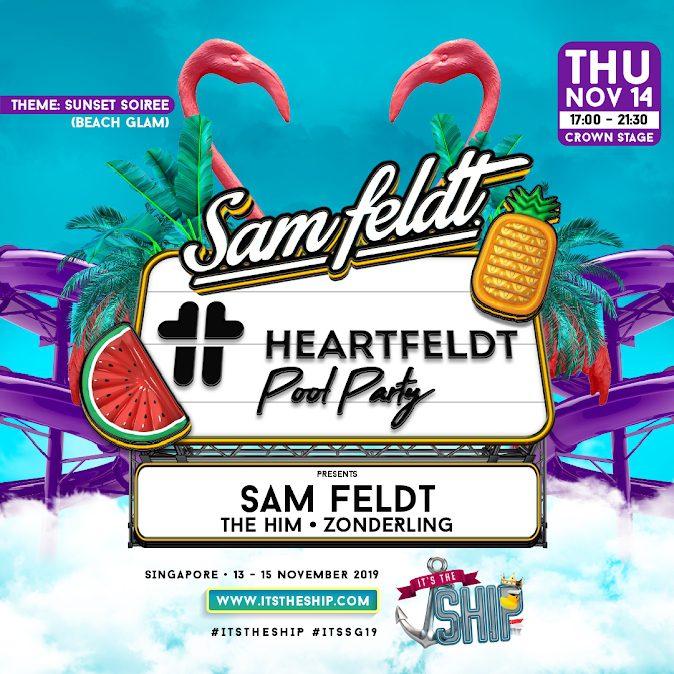 HEARTFELDT POOL PARTY