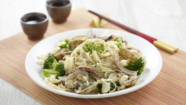 Seafood Collagen Pasta