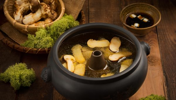 Steam Pot Chicken Soup with Matsutake Mushroom ($33.90)