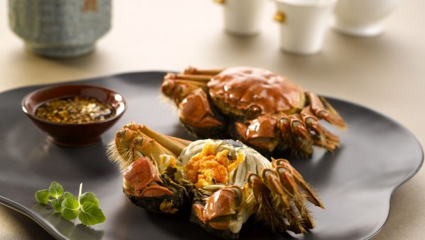 Steamed Whole Hairy Crab_Yan Ting