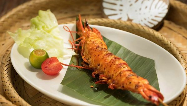 Yunnan-style Charcoal Grilled Tiger Prawn