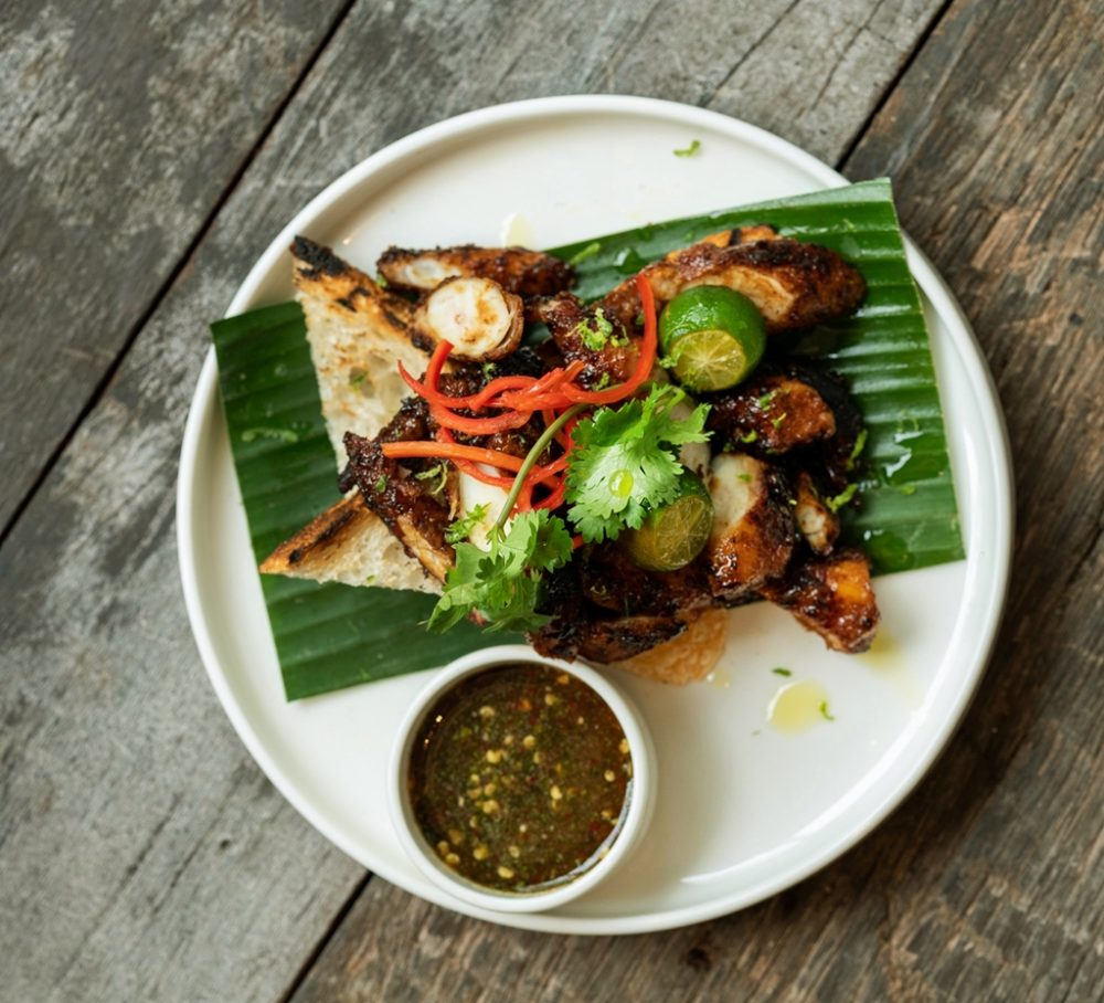 PS.Cafe ECP Chargrilled Octopus