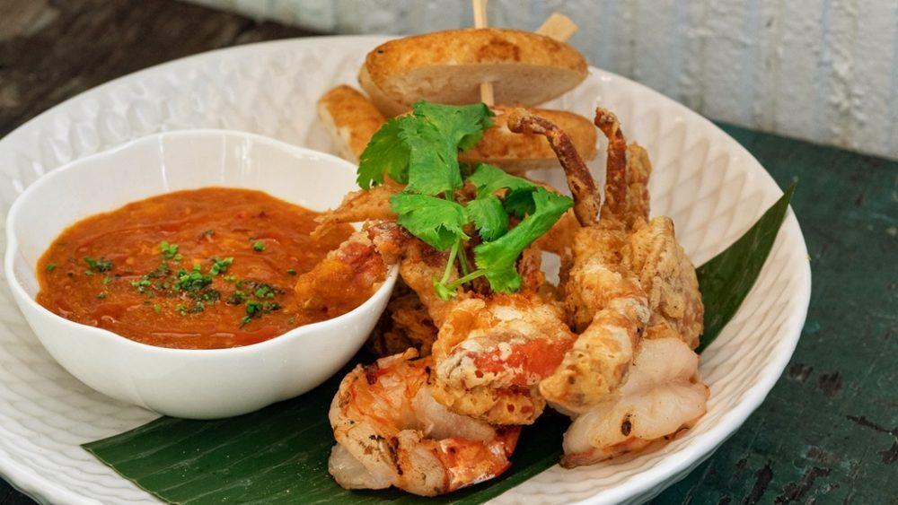 PS.Cafe ECP Singapore Chilli Crab & Prawns