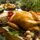Traditional Roasted Christmas Turkey