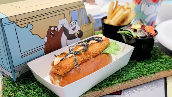 Bear-Bros Food Truck With Special Salmon Roll