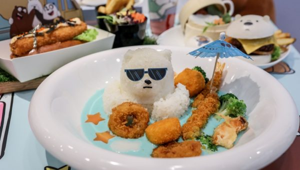 Ice Bear Arctic Cool Seafood rice with Cream Sauce