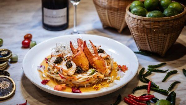 Lobster Caviar Somtam