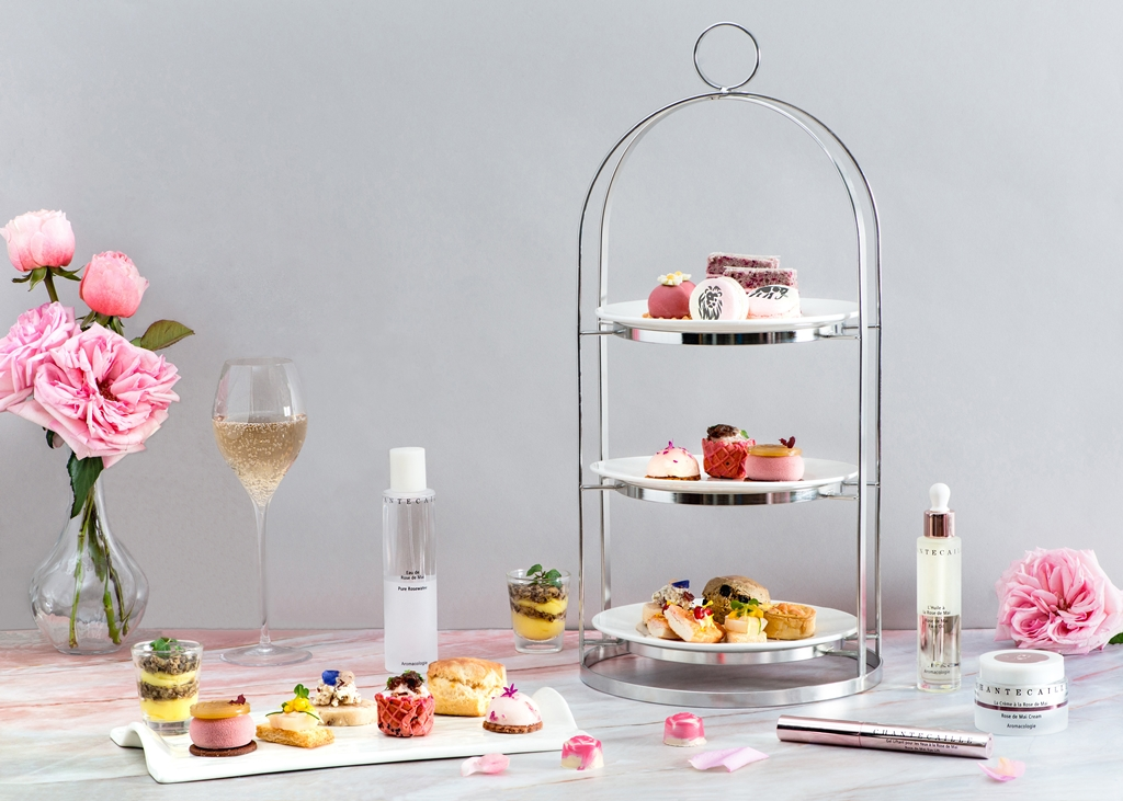 Classic Afternoon Tea - Chantecaille Rose de Mai