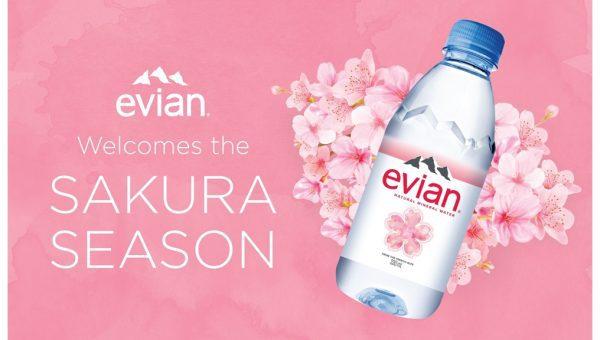 Evian Sakura Limited Editi