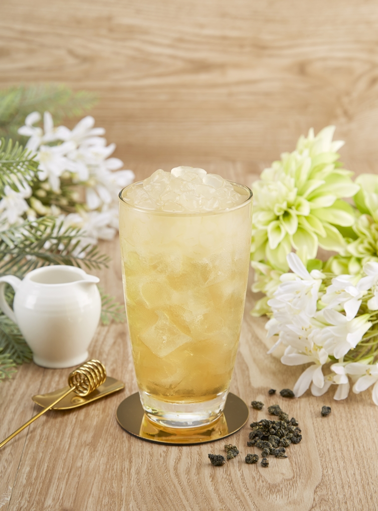 Lychee Four Season Tea with Aloe Vera