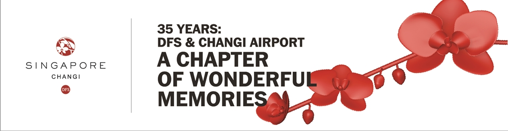 DFS GROUP MARKS 35 YEARS OF WINES & SPIRITS IN SINGAPORE CHANGI AIRPORT