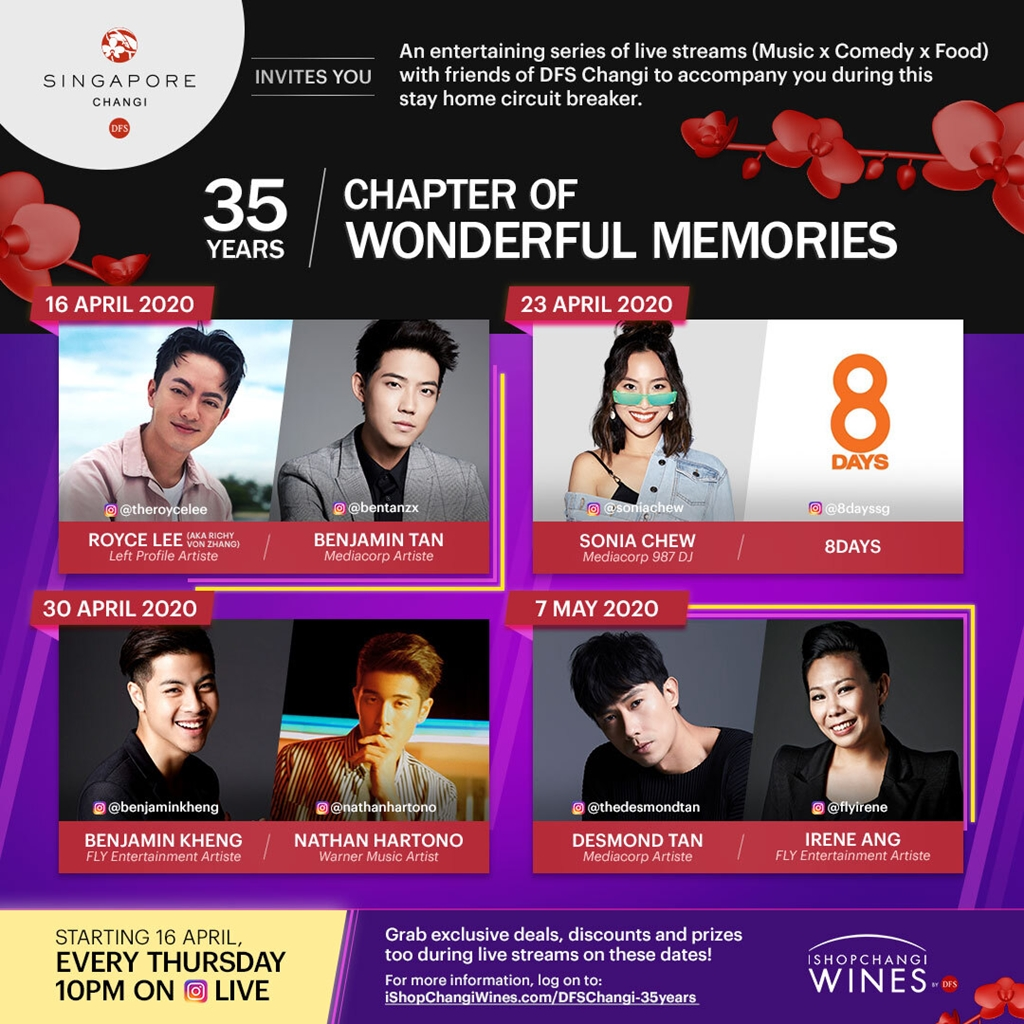 Spreading Positivity through Entertainment x Live Stream Series, 35 Years Chapter of Wonderful Memories