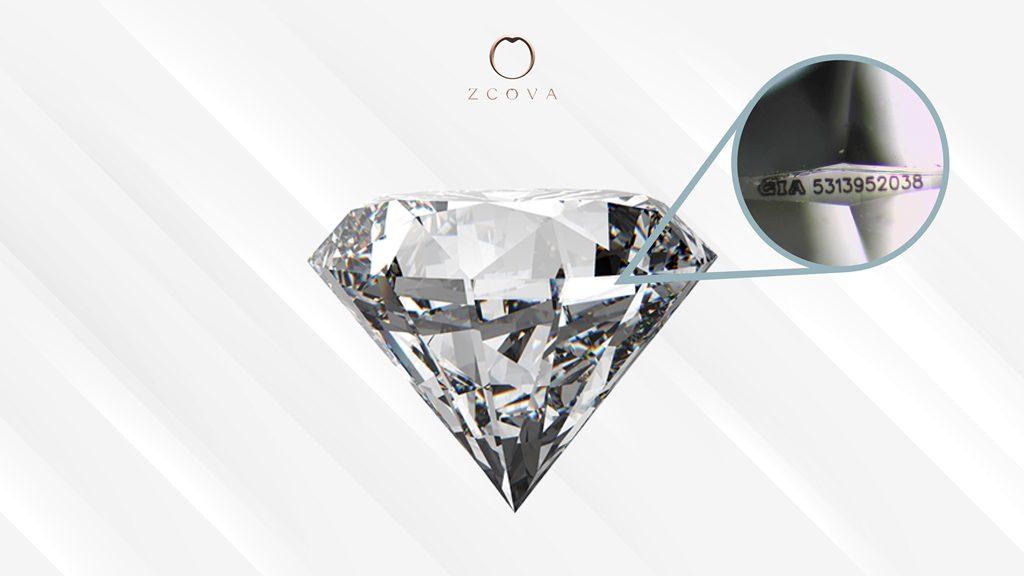 ZCOVA - Diamond GIA Number