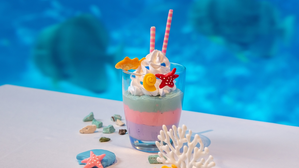 Ocean Restaurant - Mermaid Ice-cream Sundae