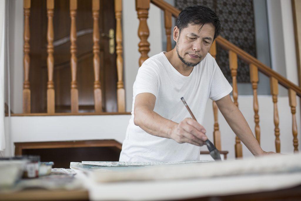 Hong Zhu An Painting II