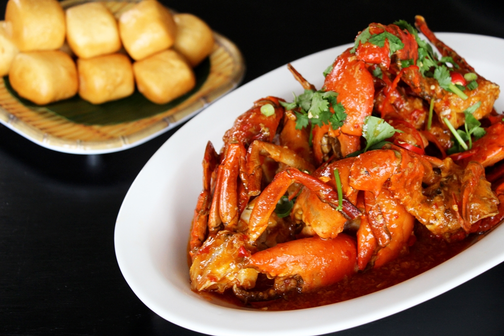 Wok Fried Singapore Chilli Crab