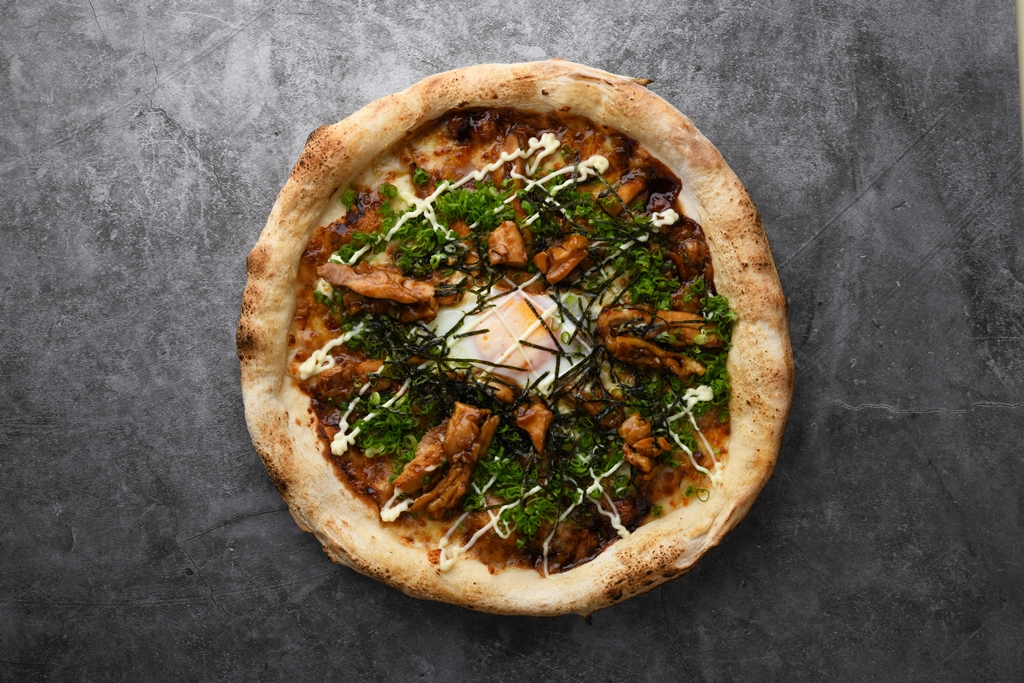 PTR Teriyaki Chicken & Scallion Pizza