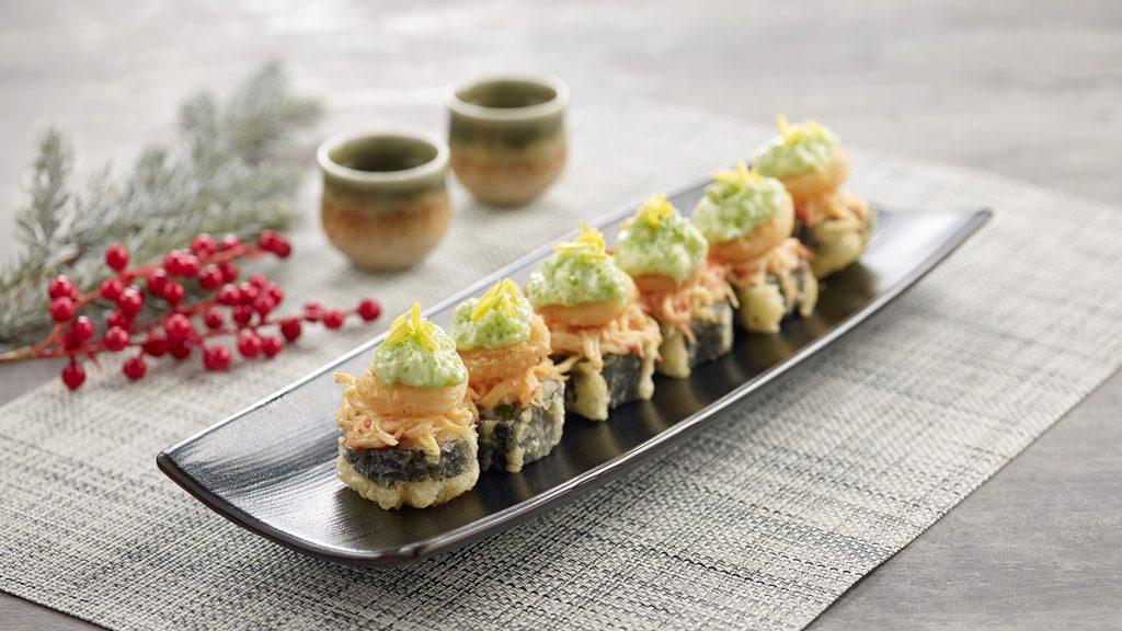 Festive Shifudo Roll