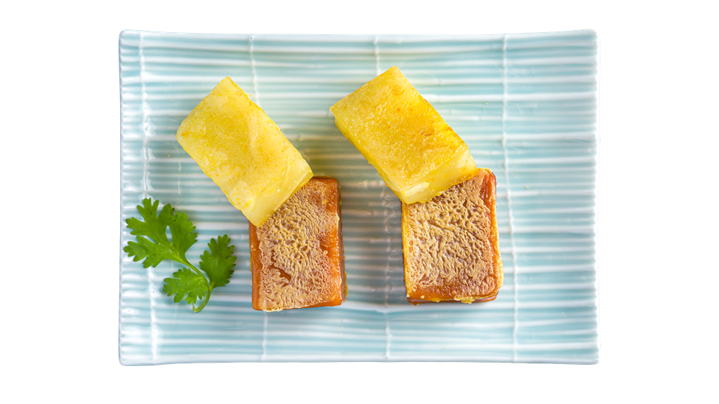 Pan Fried Water Chestnut Cake & Nian Gao