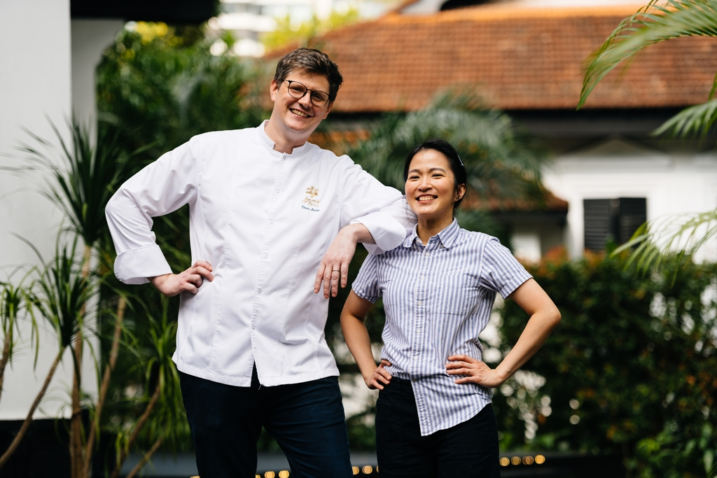 Buona Terra's Chef Denis Lucchi & Tess Bar's Ms. Christyne Lee