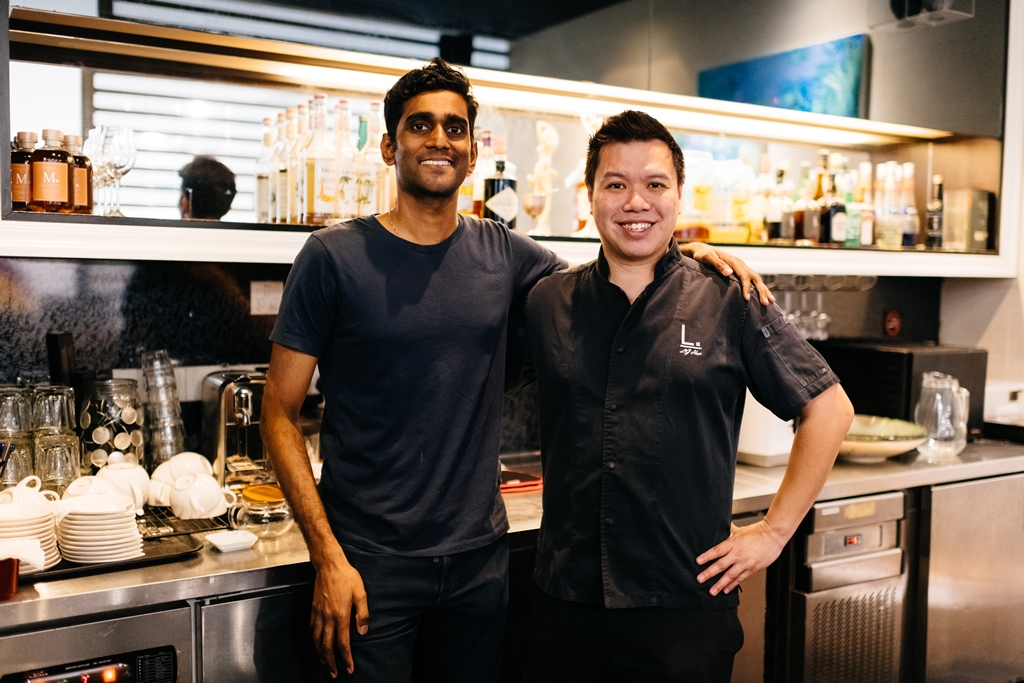 Native's Vijay Mudaliar & Labyrinth's Chef LG Han