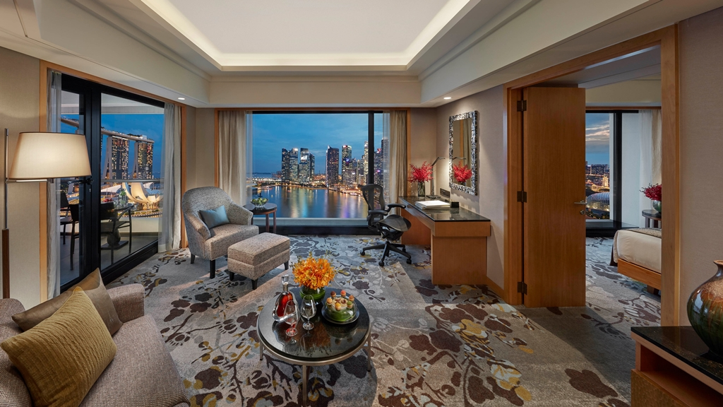 One for One Suite Stay at Mandarin Oriental, Singapore