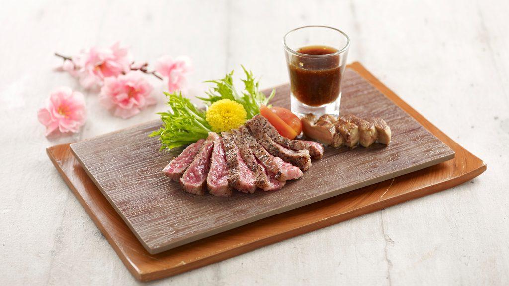 Truffle Satsuma Wagyu Steak Foie Gras