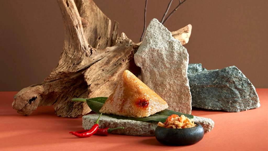 Crystal Jade Rice Dumplings 2021 - Spicy Dried Shrimp 'Hei Bi Hiam' Rice Dumpling