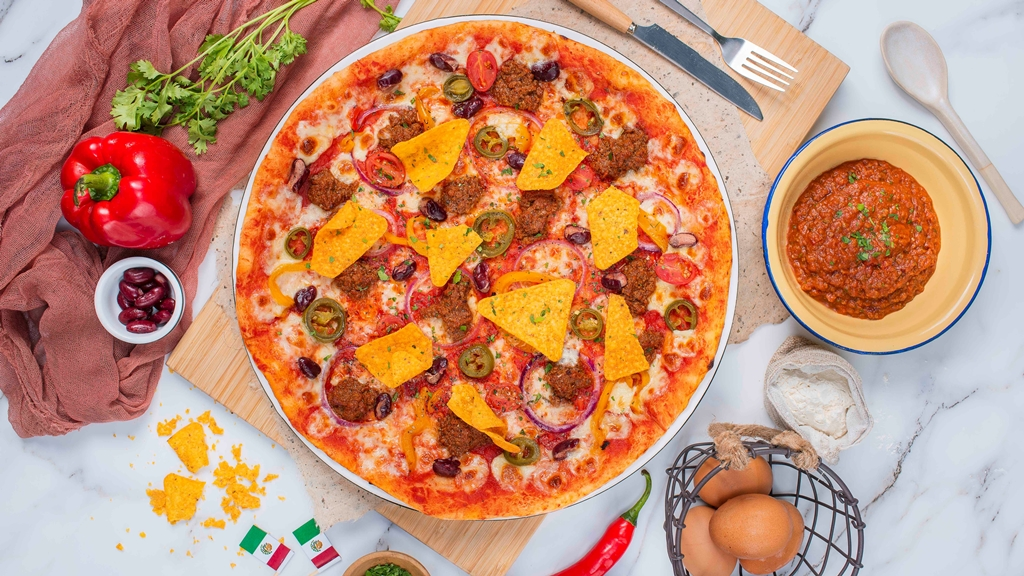 Mexico - Chilli Beef Pizza