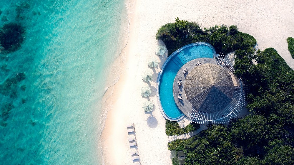 Le Meridien Maldives Resort & Spa_Riviera Bar& Beach