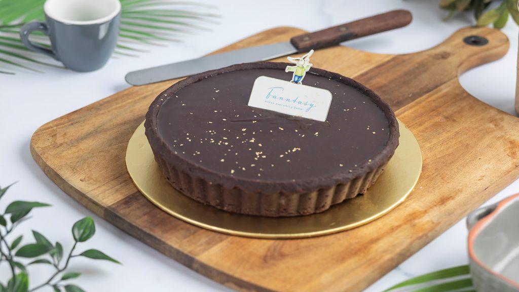 Signature Valrhona Chocolate Tart