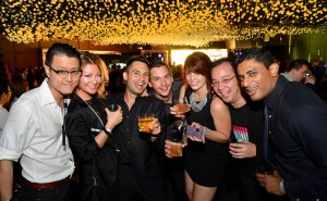 Actor, host and model Keagan Kang and guests having a great time at Johnnie Walker Circuit Lounge