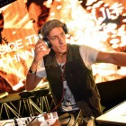 DJ Clinton Sparks gets the party started at Johnnie Walker Circuit Lounge