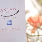 Asian Masters Charity Dinner 2012 - Menu