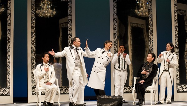 Importance of Being Earnest - Staging Shots