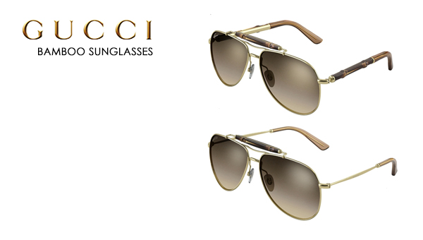 Gucci presents the Bamboo Sunglasses