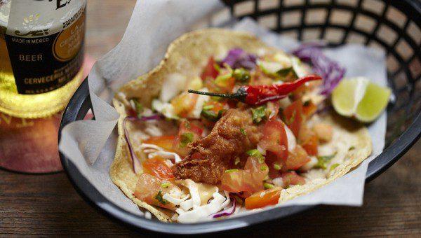 Señor Taco Clarke Quay - Baja Fish Tacos