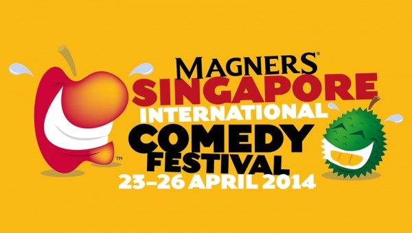 Magners Singapore International Comedy Festival 2014 - 23 - 26 April at Boat Quay