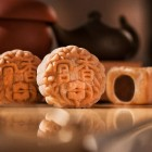 Hai Tien Lou, Pan Pacific Singapore - Four Treasure Petit Nuts Snowskin Mooncakes