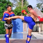 Thai Boxing Sri Panwa Phuket Luxury Pool Villa Thailand