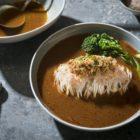 Chilli Pomelo La Mian Soup with Crabmeat