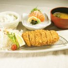 Canada Sangenton Tonkatsu & Salmon Sashimi Set