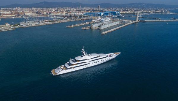 Benetti FB275 Giga yacht